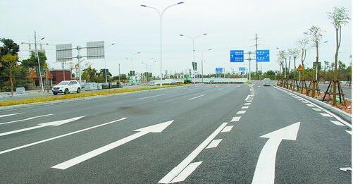 翔安新机场快速通道再传捷报 翔安西路建成将全线通车