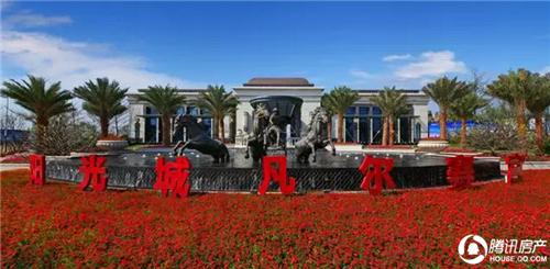 阳光凡尔赛宫:这里有你一生一世百亩花海情