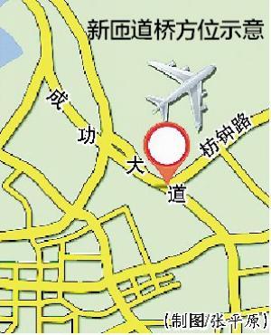 从枋钟路左转上成功大道 新匝道桥通车限速40公里