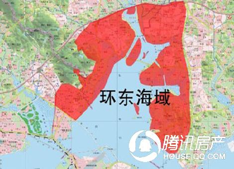 环东海域成城建主战场 110万起落脚潜力区域