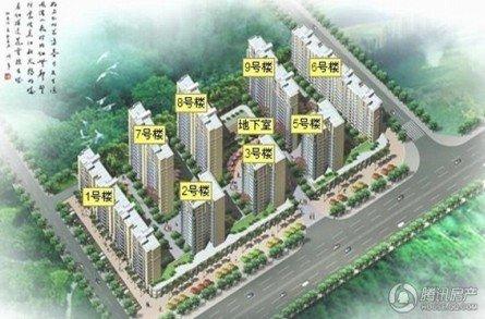 华森公园首府:余少量三房在售 6800元每平