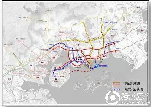 除了翔安隧道 还有翔安第二东通道、第三东通道…..