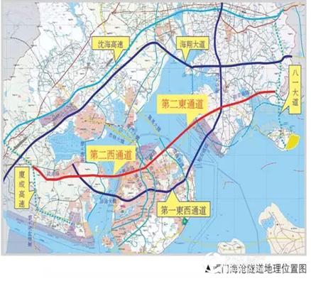 美伦·企业公园:海沧隧道昨日开建 未来不只看得见