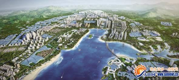 软件园四期规划落地马銮湾新城