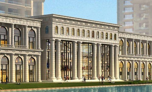 老污水厂将建成5幢62层钢结构住宅楼 成厦最高