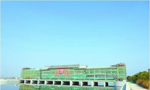 新石浔水闸今年汛前投入使用 将提高同安防洪挡潮能力