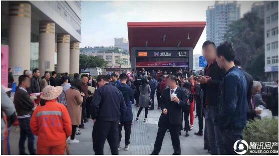 龙湖·春江郦城:1号线通车,人潮火爆!