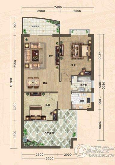 新城·海世界:主打2-3房 一户一海湾户户有景
