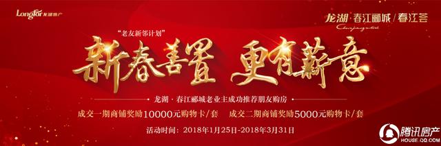 龙湖·春江郦城:涨知识!说一说商铺的前世今生!.