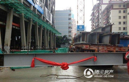 世侨中心166天112.6米一步封顶 少量写字楼在售