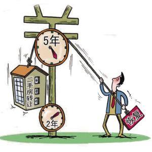 个人购买2年以上普通住房对外销售免征营业税