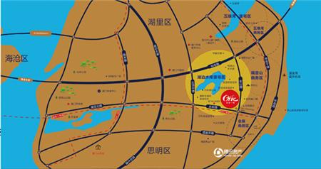 宝龙一城:岛内地铁2号线旁 54㎡(建面)新品将上市