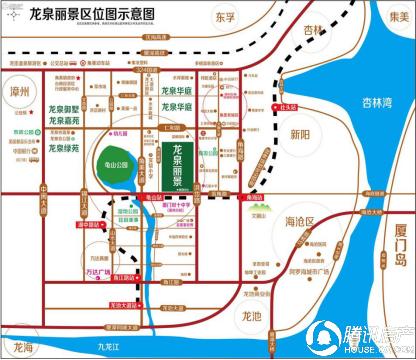 龙泉丽景:区域交通日益发达 活力新城已现