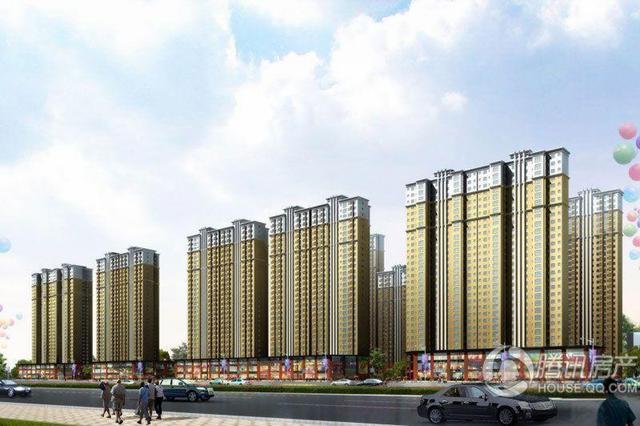 香缤国际城在售14、15号楼五证齐全均价5000元/㎡