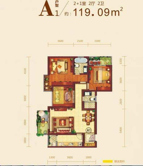 曲江国风世家价格92-139平均价6500元/平米