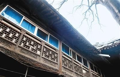 酷!西安城大学习巷里的年将军宅(图)