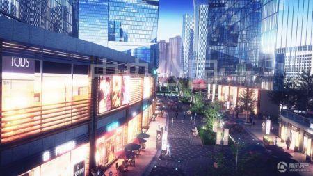 华岭中央公园40年产权商业综合体 2015年9月交房