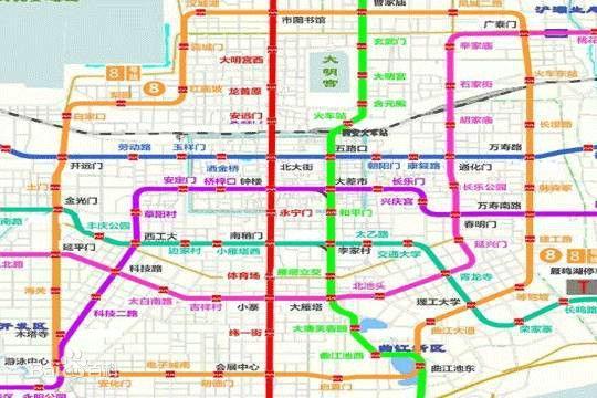 西安地铁2023年规划图