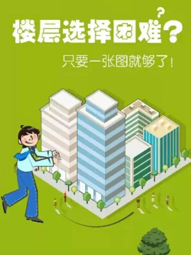 一张图让你秒懂买房如何选楼层
