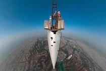 直击高达828米的现世界第一高楼 太过震撼!