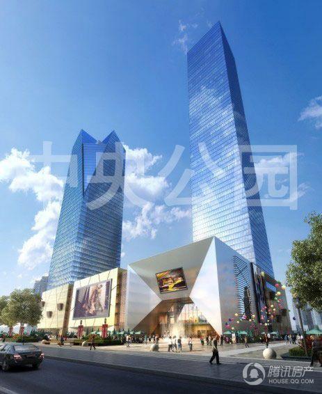华岭中央公园 前期咨询中 预计2015年9月交房