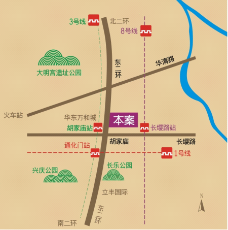 项目区域地图