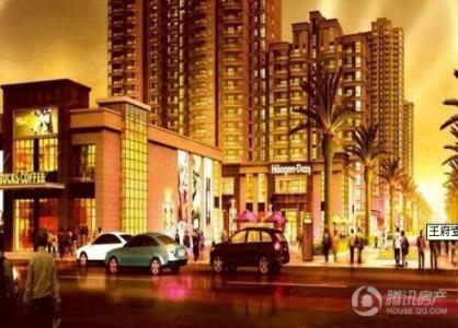 王府壹街区目前仅剩少量商铺在售 均价25000元