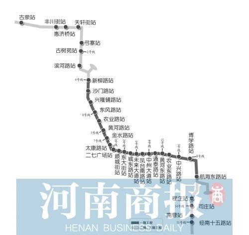 郑州地铁3号线建设进入快车道 工程进度前进一大步