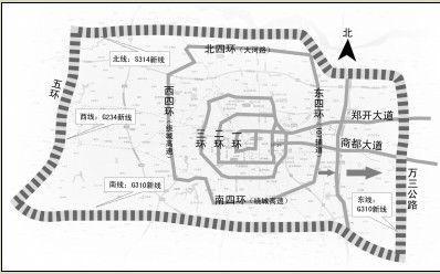 郑州又增一环 107国道郑州段再次东迁20公里