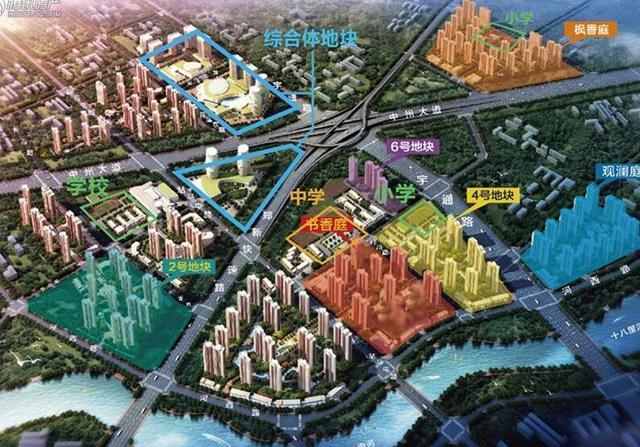 郑州限行出门靠地铁 高性价比临铁3盘值得看