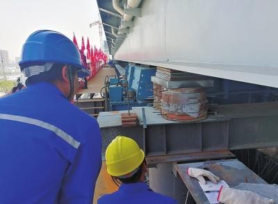 郑州农业路郑北大桥将实现跨越郑州北站并年底通车
