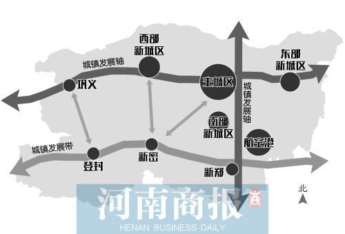 """郑州十年城市总体规划""""plus""""版公示 城区再扩容"""