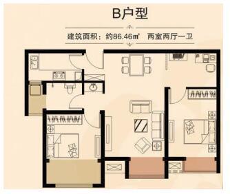 据说99%的人都想买 小三房最高惠8万今年可入住