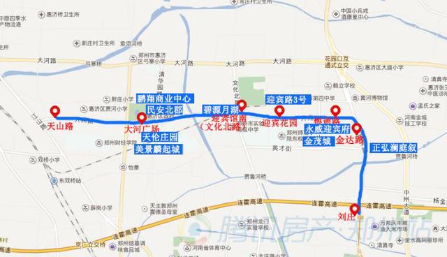 惠济区将开通3条地铁线 买这6盘的要赚了