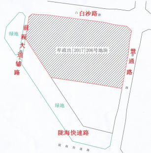 白沙地块底价成交 限房价12000元或由闽系开发商开发