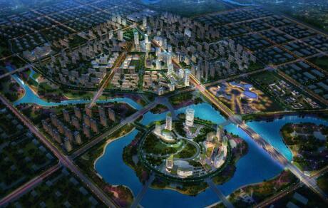 共性四:均有国际化的基础设施配套 郑东新区交通路网十分发达,公共