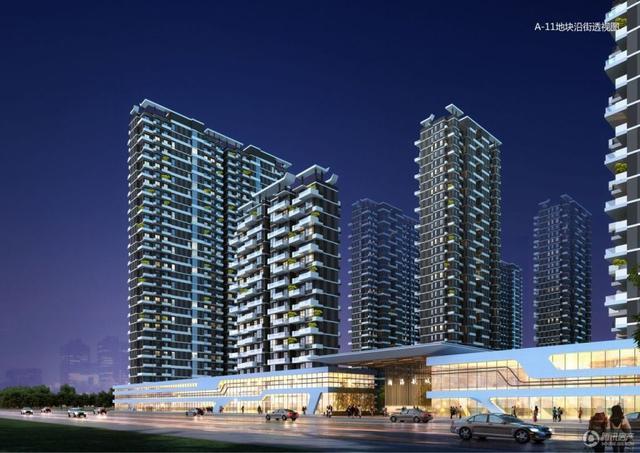 瀚海航城 建面约70-135㎡垂直森林美宅即将发售