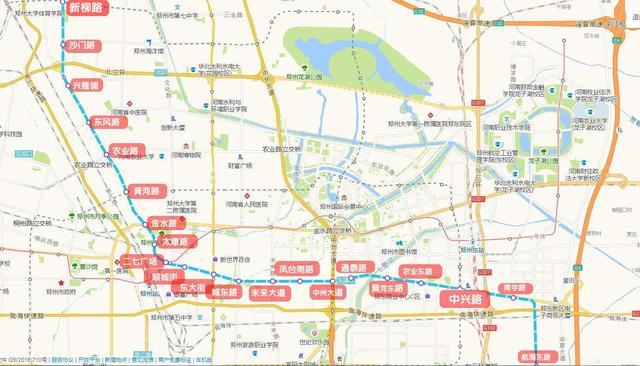 围观:郑州这条地铁线两端的区域房价竟相差1000
