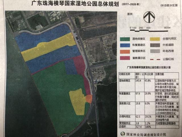 横琴国家湿地公园申建有进展 国家林业局正在公示