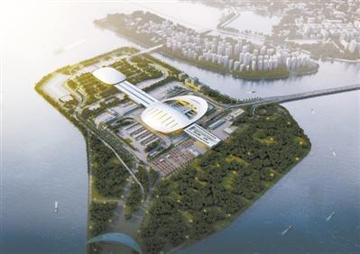 港珠澳大桥珠海口岸现雏形 主体结构封顶工程年底完成