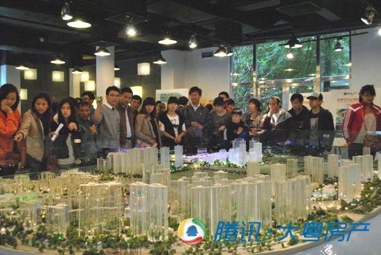 珠广深三地千人联动华发专场看房团首战告