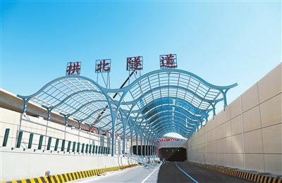 港珠澳大桥珠海连接线将验收 穿越拱北隧道仅3分钟