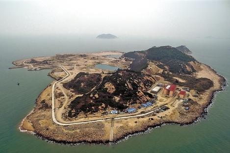 """珠海无居民岛今日动工开发 以""""公益+旅游""""模式开发"""