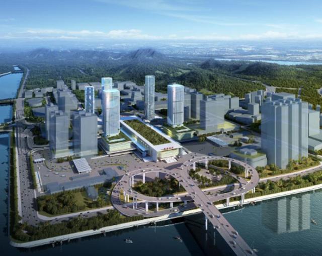 横琴口岸及综合交通枢纽开发工程正式动工