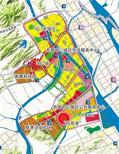 心城区综合交通规划出炉高清图片