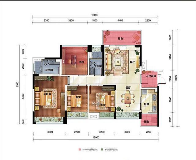 中铁诺德国际奢适全功能四房 一步到位置业改善房