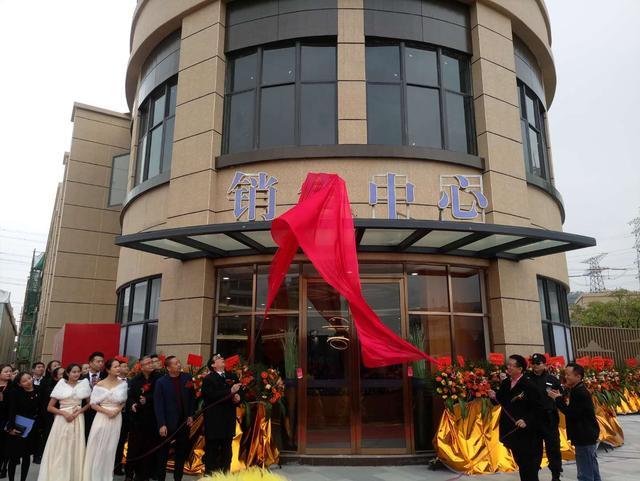 诚丰雅园盛装亮相 销售中心、样板房璀璨开放