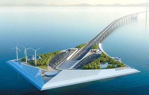 港珠澳大桥第二出口 奥园观山海身处大湾区红利前沿