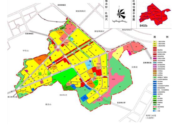 珠海市三灶中心区及金海岸中心规划图片
