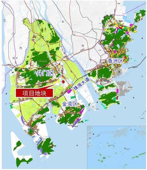 斗门区白藤片区规划批后公告 近七成为二类居